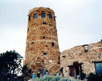 Photograph        Hopi Indian Tower
