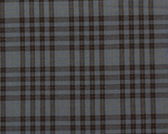 Tartan check, grey - Fat Quarter