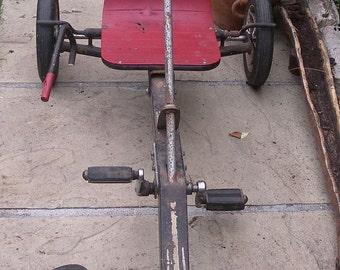 Kids Go Kart. Raleigh Panther. Vintage. Retro. Pedal Car
