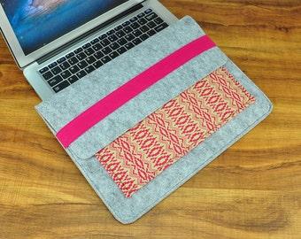 "Felt 13 Macbook Sleeve , Felt 13 Macbook Air Case , Felt 13 Macbook Bag , 13 macbook pro ,Felt 13 Macbook Case , 13 Macbook Air , 13""--CF137"