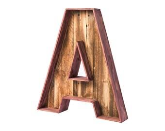 Custom decorative letters.