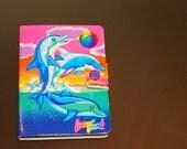 Lisa Frank Notepad // vintage 90s dancing dolphins notepad
