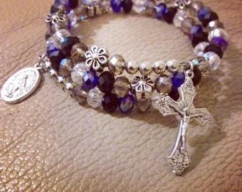 Wrap Around Rosary Bracelet Made to Order.