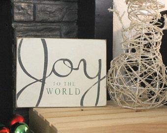 Joy to the World Holiday Christmas Decor