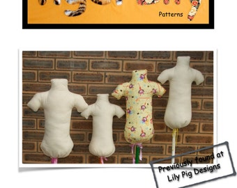 PDF  Display Mannequin Pattern 6mths-6years