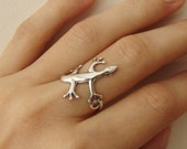 Lizard Ring - now on S A L E
