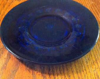 Cobalt Blue Plates