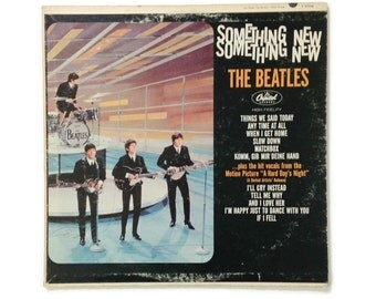 "The Beatles - ""Something New"", T-2108, mono, 1964 pressing, vintage vinyl LP, vg+/vg"