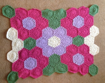 Flower Garden Baby Blanket
