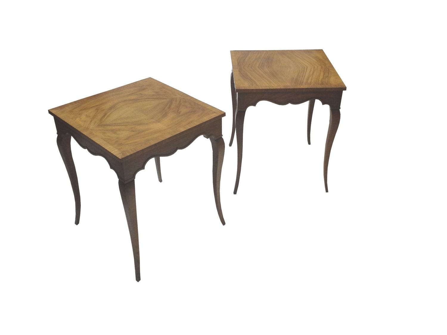 Vintage Baker Furniture End Tables Pair By Picasovintage