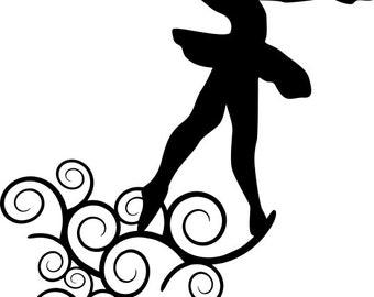 Ballet Dancer SVG - Digital File