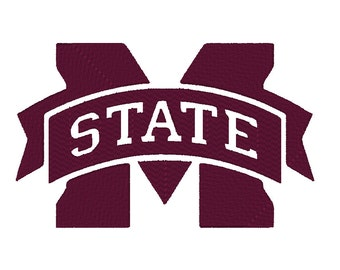Mississippi State Embroidery