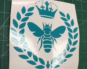 Queen bee vinyl sticker decal 5""