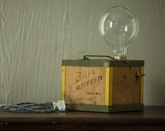 Handmade Oberlin Bait Canteen Light Fixture - 1900-1930 - NEW REDUCED PRICE