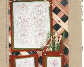 Pumpkin Patch Stitchery Pattern #152 - used