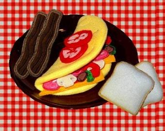 In the Hoop Omelette Breakfast Set