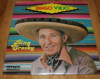 "RARE Sealed Bing Crosby ""Bingo Viego"" 1977 Anahuac Records (Bing sings in Spanish & English)"