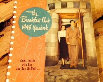 1948 Breakfast Club Yearbook