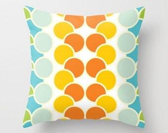 colorful bubble Decorative throw pillow Modern design home decor accent cushion