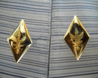 SALE!!! Vintage 1950's Sterling Silver Cuff Links from Siam