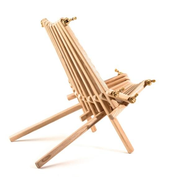 Ash Pioneer Chair Patio Chari Original Wood By