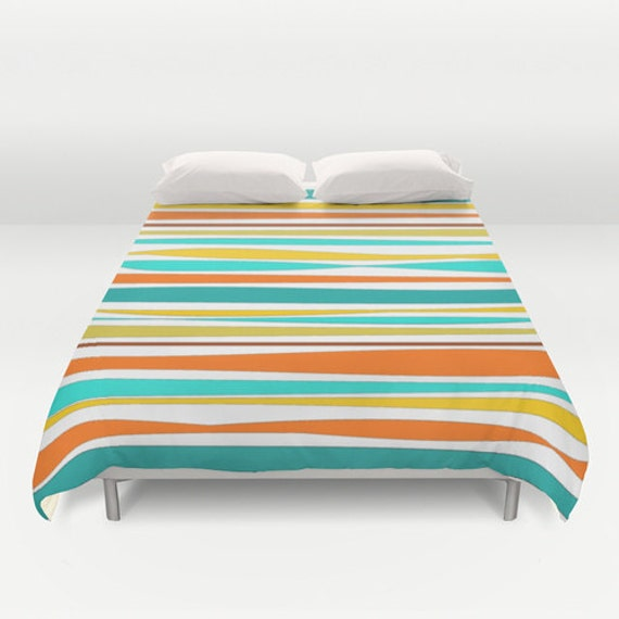 Colorful Bedding Turquoise Duvet Cover Teal by