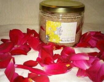 Rose and Vanilla Sugar Scrub with free 2 oz. lotion