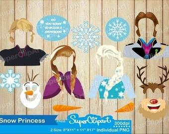 Frozen Props for Frozen Birthday Party. Frozen photo booth props Frozen Printables. Frozen photobooth props.