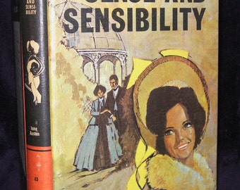 Jane Austen, Sense and Sensibility - Dated 1973, Book