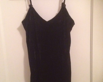 Vintage Velvet Tank Dress