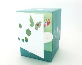 THANK YOU Candle ~ CardCandle ~ Collection. A greeting card fused in front of the box