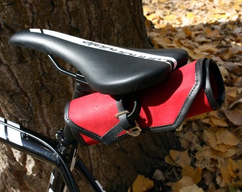 Bicycle Tool Roll - Red & Black