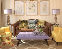 These London Landmark cushions are such a talking point in you lounge, library or man's den. So unusual and luxurious.