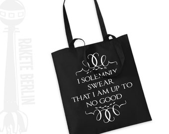Tote Bag   'I solemnly swear that i am up to no good'