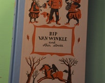 Vintage illustrated copy of Rip Van Winkle and Other Stories