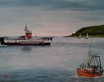 ferry to millport