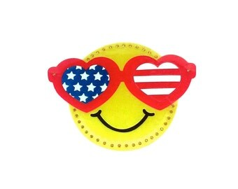 Smiley Face Flag Etsy
