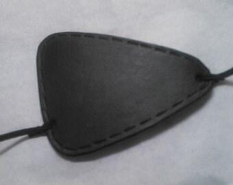 Solid Snake Plissken Leather Eyepatch