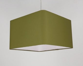 Lampshade 'Square Moss 30'