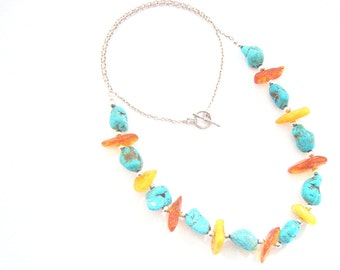 Sea and Sand Necklace