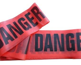 Danger Tape (Non Adhesive)