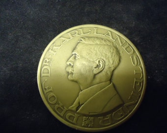 bronze Red Cross award  blood donation Award from 1955/padgett.