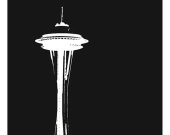 Space Needle Design Etsy