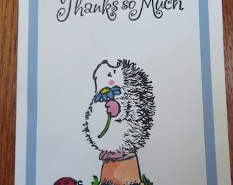 Thank you hedgehog
