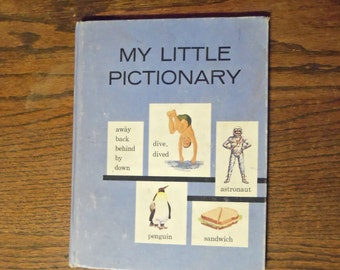 My Little Pictionary Scott Foresman & Company The Language Arts Program Curriculum Foundation Series Vintage Educational book