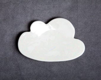 Porcelain Cloud Plate