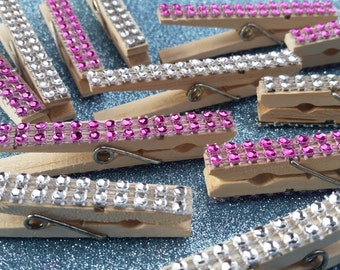Bling Clothes Pins (set of 25).