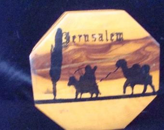Vintage Jerusalem Trinket Box