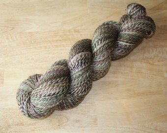 Handspun Yarn - Beans - Worsted