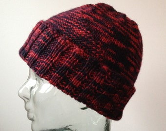 Hat with Garter Triangle